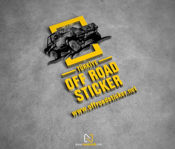 Türkiye Off Road Sticker Logo